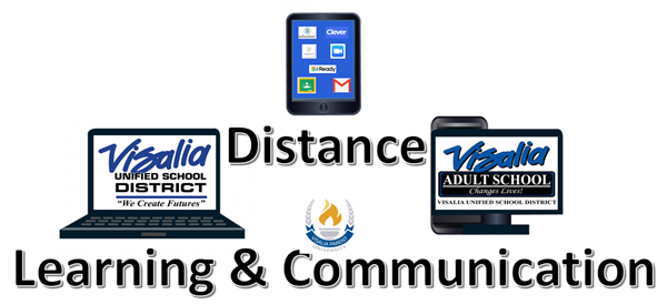 distance learning and communication logo