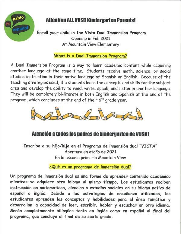 What is a Dual Immersion Program