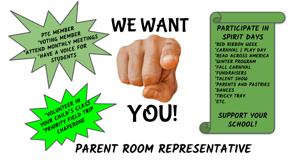 Parent Room Representative Interest Form