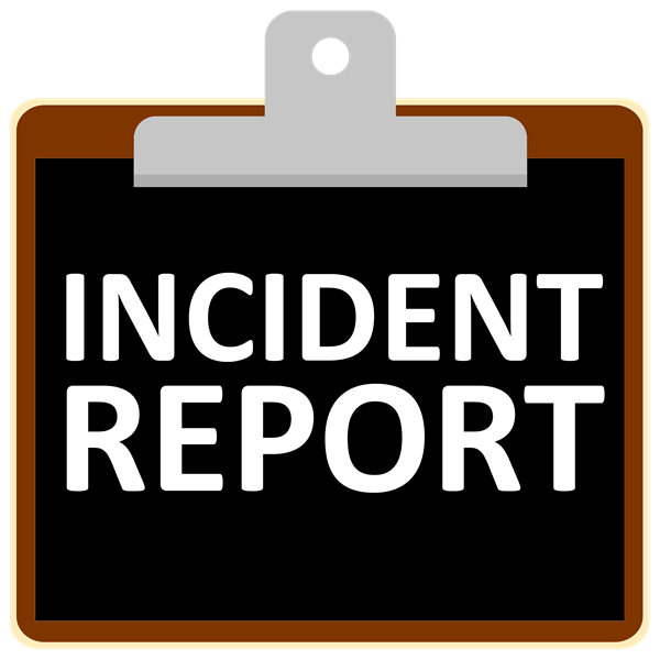 Incident Report / Witness Statement