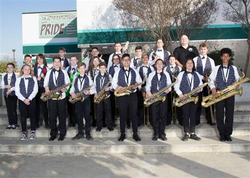 2018 La Joya Jazz band