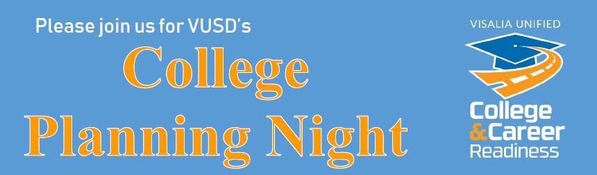 JUNIORS: College Planning Night April 10 from 6-8 pm