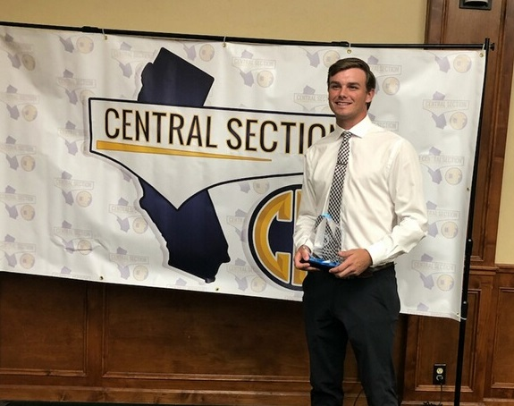EDHS Senior Parker Boswell was named the 2019 California CIF Male Scholar-Athlete of the Year.  Way to go, Parker!