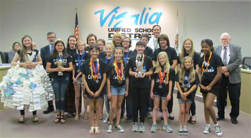 VUSD Schools Triumph in Odyssey of the Mind Competition