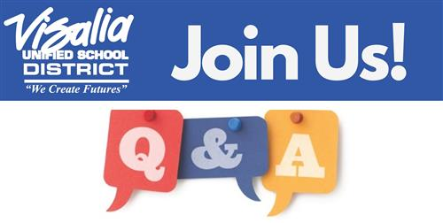 Weekly VUSD Q & A Session