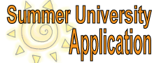 Summer University Application