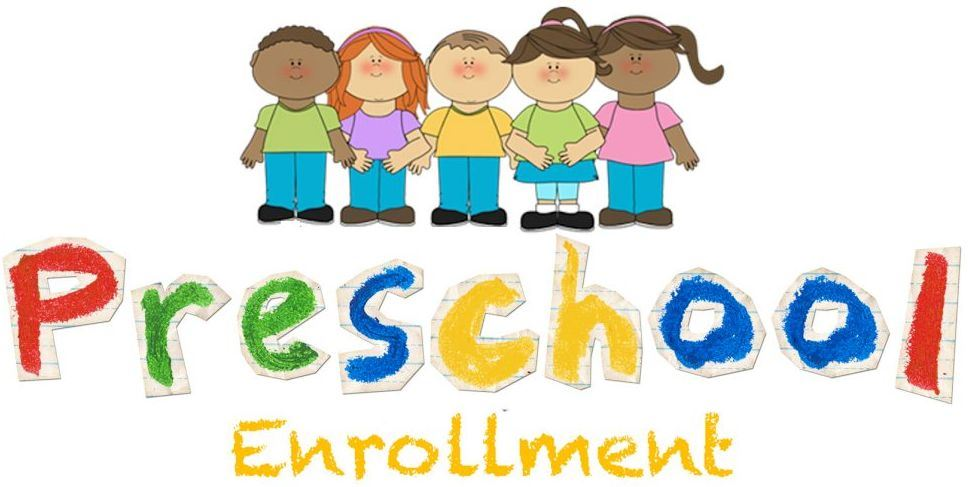 2019 Preschool Registration