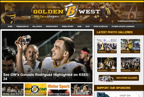 GWHS Athletics Website - trialblazerathletics.com